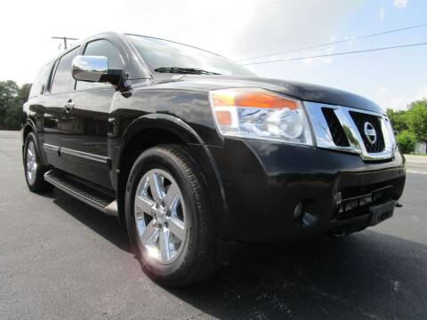 2011 Nissan Armada for sale at Thornhill Motor Company in Lake Worth TX
