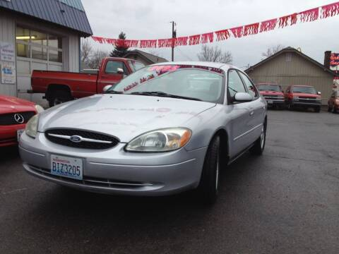 2002 Ford Taurus for sale at TTT Auto Sales in Spokane WA