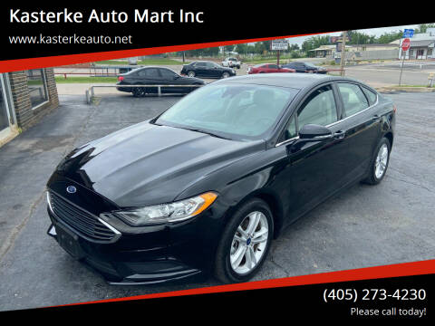2018 Ford Fusion for sale at Kasterke Auto Mart Inc in Shawnee OK