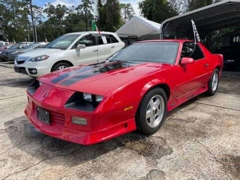 1992 Chevrolet Camaro for sale at AUTO WOODLANDS in Magnolia TX