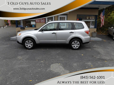 2011 Subaru Forester for sale at 3 Old Guys Auto Sales in Newburgh NY