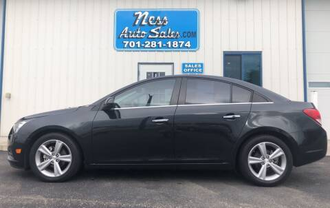 2013 Chevrolet Cruze for sale at NESS AUTO SALES in West Fargo ND