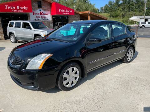 2012 Nissan Sentra for sale at Twin Rocks Auto Sales LLC in Uniontown PA