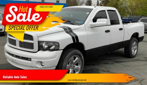 2005 Dodge Ram Pickup 1500 for sale at Reliable Auto Sales in Roselle NJ