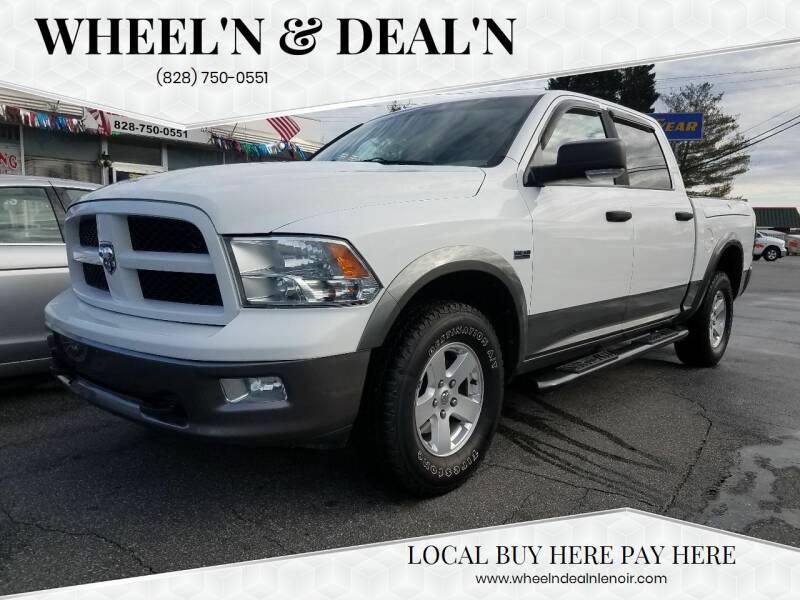 2011 RAM Ram Pickup 1500 for sale at Wheel'n & Deal'n in Lenoir NC