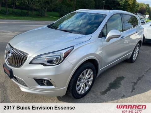 2017 Buick Envision for sale at Warren Auto Sales in Oxford NY