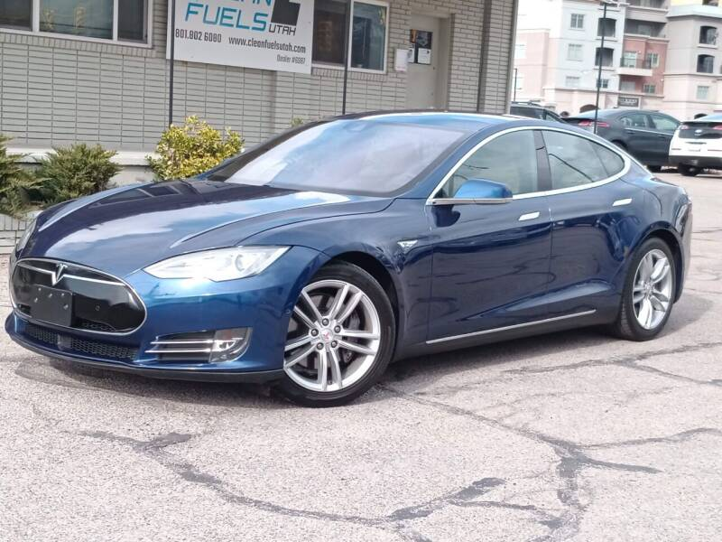 2015 Tesla Model S for sale at Clean Fuels Utah - SLC in Salt Lake City UT