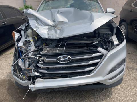 2018 Hyundai Tucson for sale at ALL TEAM AUTO in Las Vegas NV
