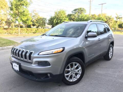 2014 Jeep Cherokee for sale at FIRST FLORIDA MOTOR SPORTS in Pompano Beach FL
