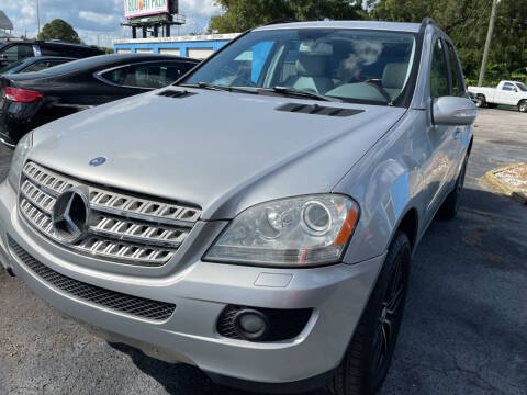 2007 Mercedes-Benz M-Class for sale at The Peoples Car Company in Jacksonville FL
