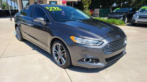 2016 Ford Fusion for sale at Dunn-Rite Auto Group in Longwood FL