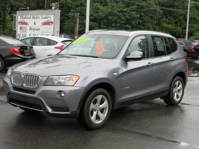 2012 BMW X3 for sale at United Auto Service in Leominster MA