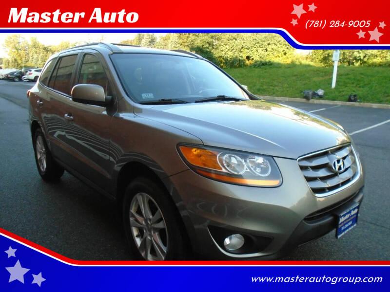 2011 Hyundai Santa Fe for sale at Master Auto in Revere MA