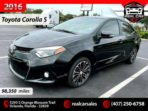 2016 Toyota Corolla for sale at Real Car Sales in Orlando FL