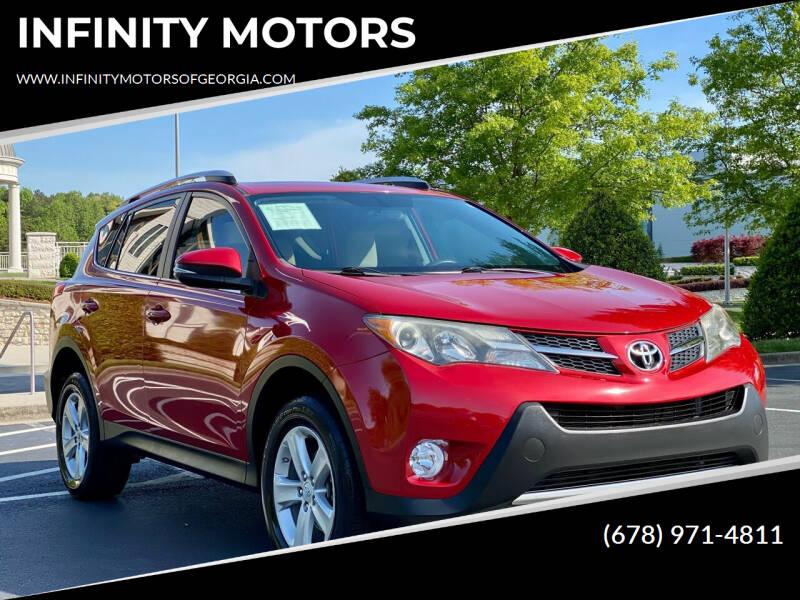 2013 Toyota RAV4 for sale at INFINITY MOTORS in Gainesville GA