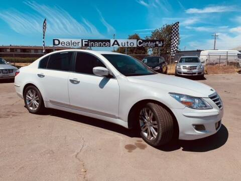 2011 Hyundai Genesis for sale at Dealer Finance Auto Center LLC in Sacramento CA