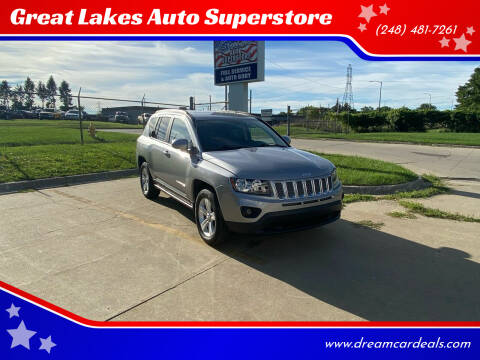 2018 Jeep Cherokee for sale at Great Lakes Auto Superstore in Pontiac MI