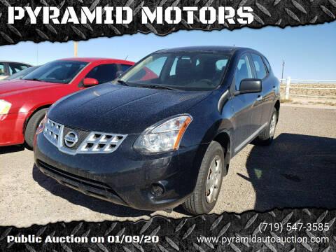 2014 Nissan Rogue Select for sale at PYRAMID MOTORS - Pueblo Lot in Pueblo CO