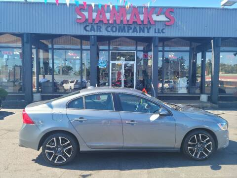 2017 Volvo S60 for sale at Siamak's Car Company llc in Salem OR