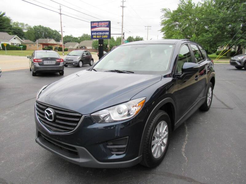 2016 Mazda CX-5 for sale at Lake County Auto Sales in Painesville OH