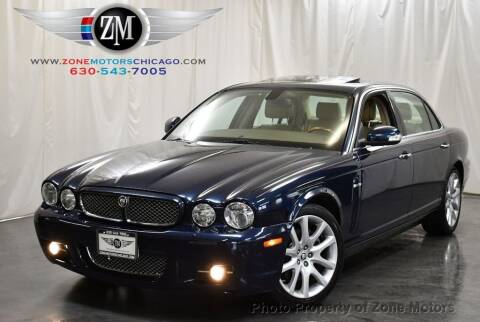 2008 Jaguar XJ-Series for sale at ZONE MOTORS in Addison IL