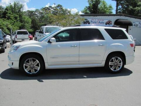 2012 GMC Acadia for sale at Pure 1 Auto in New Bern NC