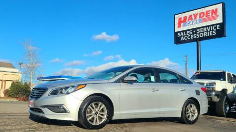 2015 Hyundai Sonata for sale at Hayden Cars in Coeur D Alene ID