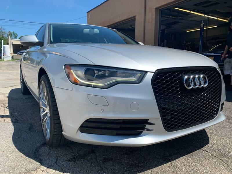 2012 Audi A6 for sale at Martys Auto Sales in Decatur IL