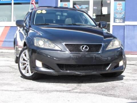 2006 Lexus IS 250 for sale at VIP AUTO ENTERPRISE INC. in Orlando FL