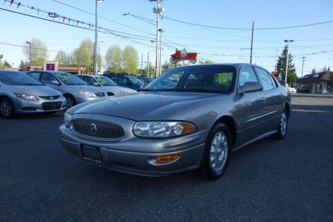 2002 Buick LeSabre for sale at Leavitt Auto Sales and Used Car City in Everett WA