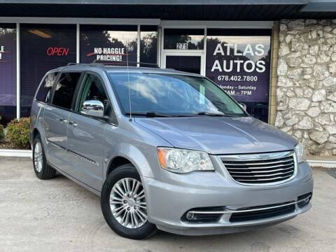 2013 Chrysler Town and Country for sale at ATLAS AUTOS in Marietta GA