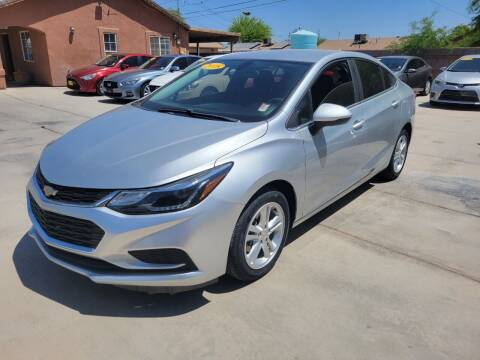 2018 Chevrolet Cruze for sale at A AND A AUTO SALES in Gadsden AZ