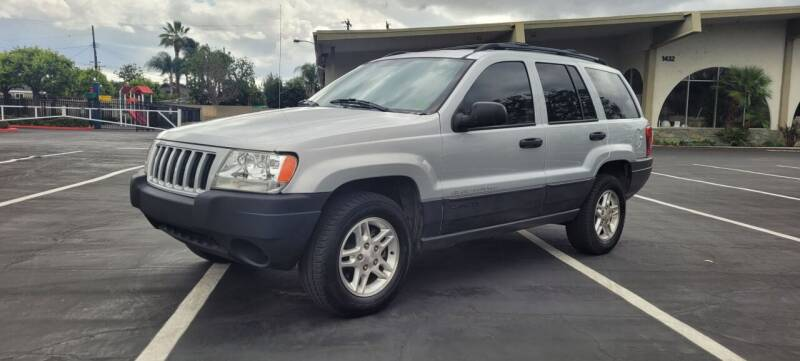 2004 Jeep Grand Cherokee for sale at Alltech Auto Sales in Covina CA