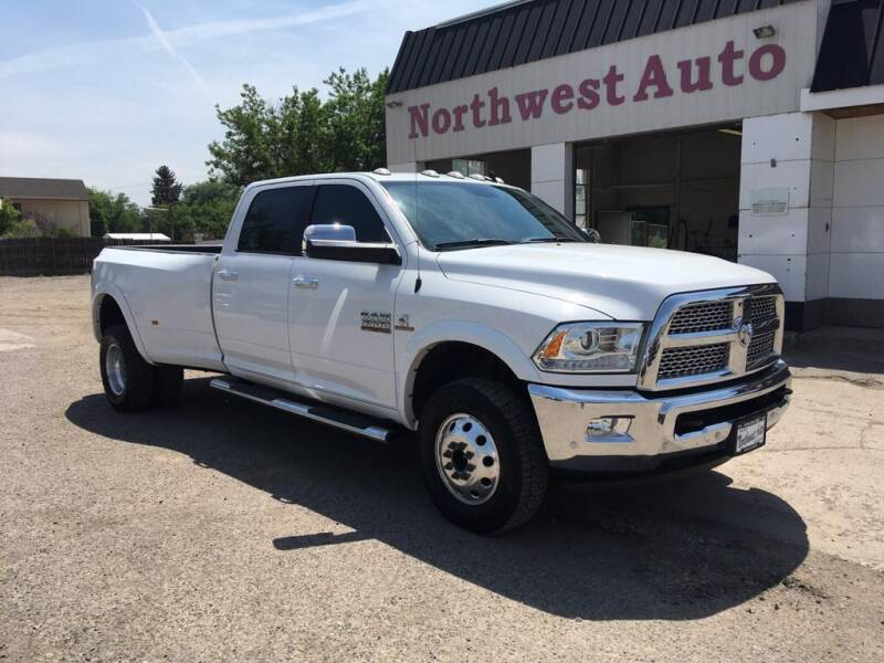 2018 RAM Ram Pickup 3500 for sale at Northwest Auto Sales & Service Inc. in Meeker CO