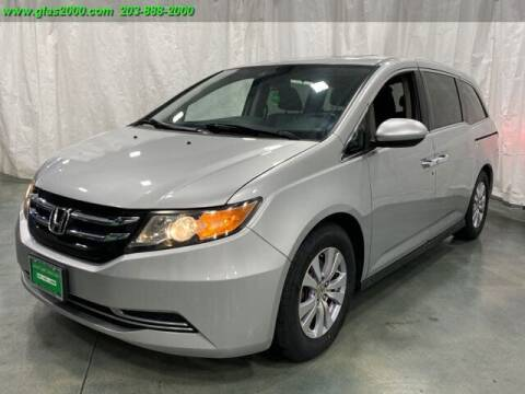 2015 Honda Odyssey for sale at Green Light Auto Sales LLC in Bethany CT