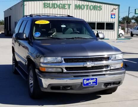 2001 Chevrolet Tahoe for sale at Budget Motors in Aransas Pass TX
