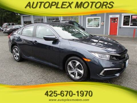 2019 Honda Civic for sale at Autoplex Motors in Lynnwood WA