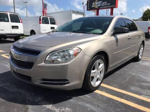 2012 Chevrolet Malibu for sale at LKG Auto Sales Inc in Miami FL