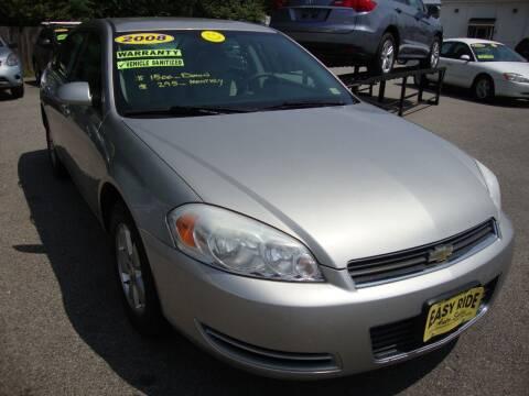 2008 Chevrolet Impala for sale at Easy Ride Auto Sales Inc in Chester VA