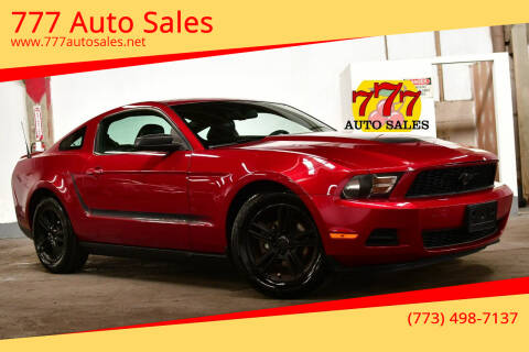 2010 Ford Mustang for sale at 777 Auto Sales in Bedford Park IL