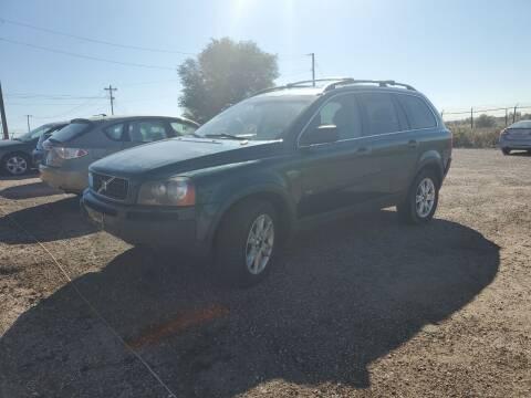 2004 Volvo XC90 for sale at PYRAMID MOTORS - Pueblo Lot in Pueblo CO