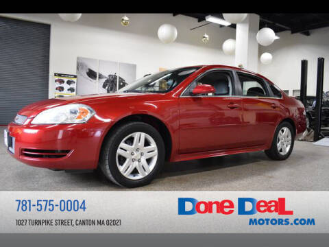 2012 Chevrolet Impala for sale at DONE DEAL MOTORS in Canton MA