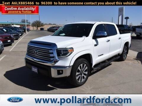 2020 Toyota Tundra for sale at South Plains Autoplex by RANDY BUCHANAN in Lubbock TX