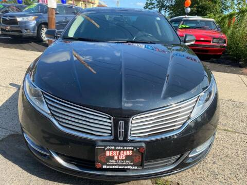 2014 Lincoln MKZ for sale at Best Cars R Us in Plainfield NJ