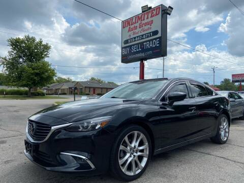2016 Mazda MAZDA6 for sale at Unlimited Auto Group in West Chester OH