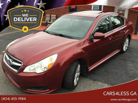 2011 Subaru Legacy for sale at Cars4Less GA in Alpharetta GA