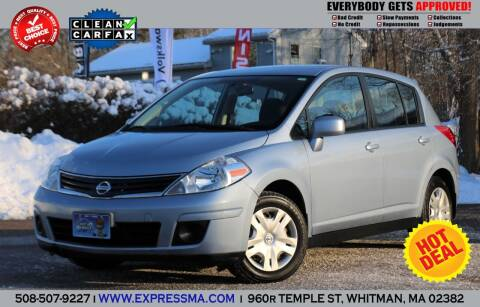 2010 Nissan Versa for sale at Auto Sales Express in Whitman MA