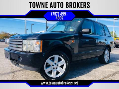2004 Land Rover Range Rover for sale at TOWNE AUTO BROKERS in Virginia Beach VA