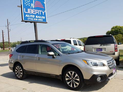2015 Subaru Outback for sale at Liberty Auto Sales in Merrill IA