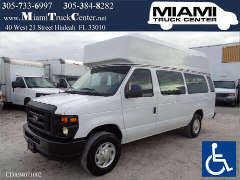 2012 Ford E-350 for sale at Miami Truck Center in Hialeah FL